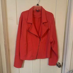 Torrid size 4 HOT PINK Moto Jacket 🏍